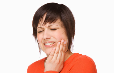 Women With Toothache